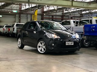 2010 Citroen DS3 DStyle Black 4 Speed Sports Automatic Hatchback