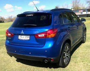 2016 Mitsubishi ASX XB MY15.5 LS 2WD Blue 5 Speed Manual Wagon