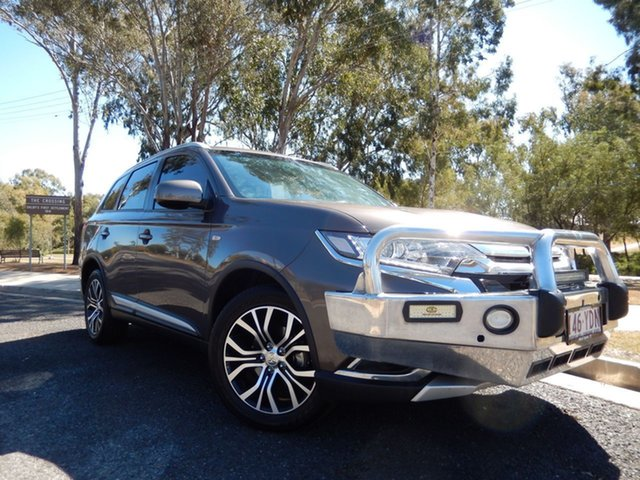 Pre-Owned Mitsubishi Outlander ZL MY18.5 LS 7 Seat (2WD) Dalby, 2017 Mitsubishi Outlander ZL MY18.5 LS 7 Seat (2WD) Grey Continuous Variable Wagon