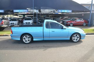 2005 Ford Falcon BA MkII XR6 Blue 5 Speed Manual Utility.