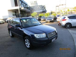 2005 Subaru Forester MY06 X Abyss Blue 4 Speed Auto Elec Sportshift Wagon.