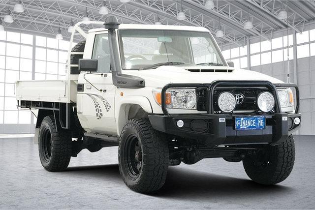 Used Toyota Landcruiser VDJ79R Workmate Victoria Park, 2018 Toyota Landcruiser VDJ79R Workmate White 5 Speed Manual Cab Chassis