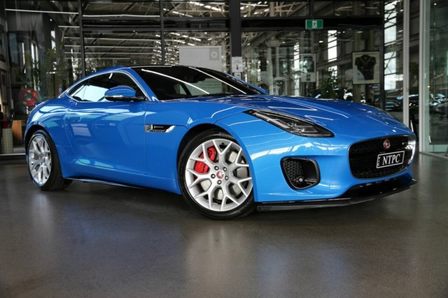 Used Jaguar F-TYPE X152 21MY R-Dynamic Coupe North Melbourne, 2020 Jaguar F-TYPE X152 21MY R-Dynamic Coupe Blue 8 Speed Sports Automatic Coupe