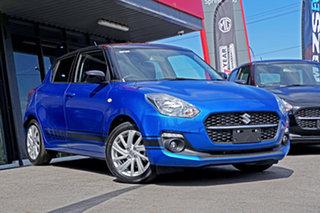 2021 Suzuki Swift AZ Series II GL Navigator Blue & Black 1 Speed Constant Variable Hatchback.