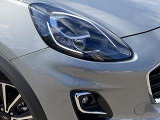 2020 Ford Puma JK 2021.25MY Puma Solar Silver 7 Speed Sports Automatic Dual Clutch Wagon.