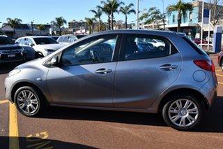 2012 Mazda 2 DE10Y2 MY12 Neo Grey 4 Speed Automatic Hatchback.