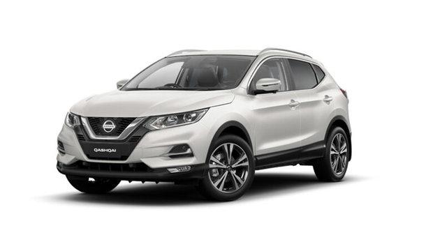 Demo Nissan Qashqai MY20 ST-L Cardiff, 2021 Nissan Qashqai MY20 ST-L Ivory Pearl Automatic SUV