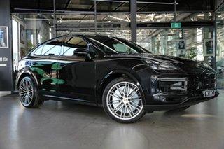 2021 Porsche Cayenne 9YB MY21 Turbo Coupe Tiptronic Black 8 Speed Sports Automatic Wagon.
