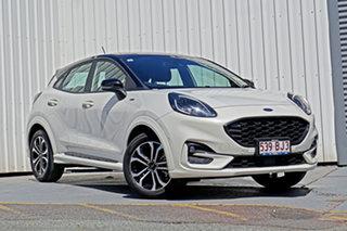 2020 Ford Puma JK 2021.25MY ST-Line White 7 Speed Sports Automatic Dual Clutch Wagon.