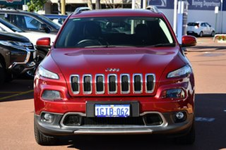 2017 Jeep Cherokee KL MY17 Limited Deep Cherry Red Pearl 9 Speed Sports Automatic Wagon.