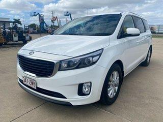 2016 Kia Carnival YP MY16 SI White 6 Speed Sports Automatic Wagon