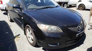 2008 Mazda 3 BK MY08 Neo Sport Black 5 Speed Manual Sedan