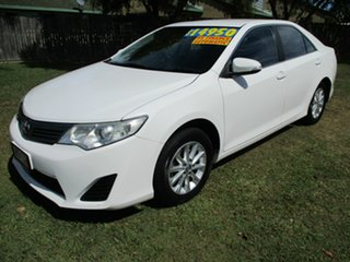 2012 Toyota Camry ASV50R Altise White 6 Speed Sports Automatic Sedan.