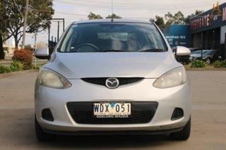 2007 Mazda 2 DY MY05 Upgrade Maxx Silver 5 Speed Manual Hatchback.
