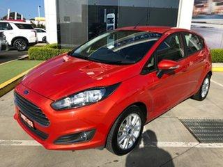 2013 Ford Fiesta WZ Trend PwrShift Orange 6 Speed Sports Automatic Dual Clutch Hatchback.