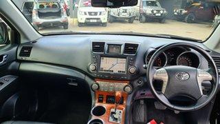 2009 Toyota Kluger GSU40R Grande (FWD) Black Sapphire 5 Speed Automatic Wagon