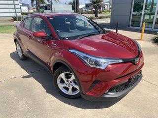 2019 Toyota C-HR NGX10R S-CVT 2WD Red/150519 7 Speed Constant Variable Wagon.
