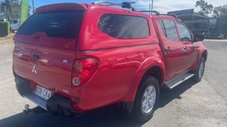 2009 Mitsubishi Triton MN MY10 GL-R Red 4 Speed Automatic Double Cab Utility