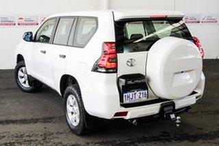 2018 Toyota Landcruiser Prado GDJ150R GX Glacier White 6 Speed Sports Automatic Wagon.