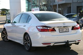 2016 Honda Accord 9th Gen MY16 V6L White Orchid 6 Speed Sports Automatic Sedan.