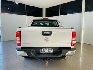 2017 Holden Colorado RG MY17 LTZ Pickup Crew Cab 4x2 Silver, Chrome 6 Speed Sports Automatic Utility