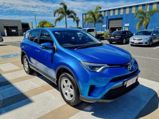 2015 Toyota RAV4 ZSA42R MY16 GX (2WD) Blue Gem Continuous Variable Wagon.