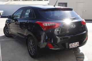 2017 Hyundai i30 GD4 Series II MY17 Active Phantom Black 6 Speed Sports Automatic Hatchback.
