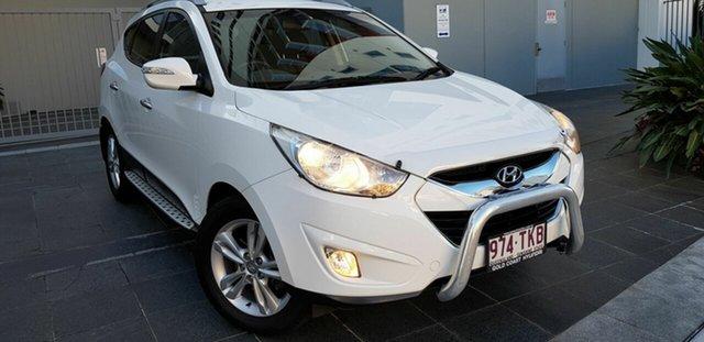 Used Hyundai ix35 LM MY13 Elite (AWD) Southport, 2013 Hyundai ix35 LM MY13 Elite (AWD) White 6 Speed Automatic Wagon