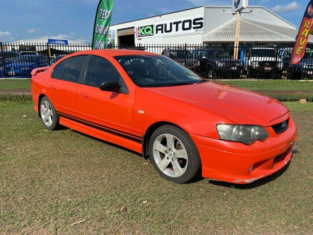 Used Ford Falcon BA XR6 Berrimah, 2003 Ford Falcon BA XR6 Orange 4 Speed Sports Automatic Sedan