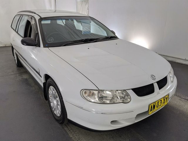 Used Holden Commodore VX Executive Maryville, 2001 Holden Commodore VX Executive White 4 Speed Automatic Wagon