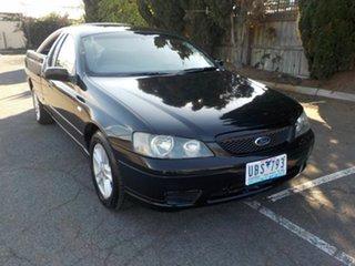 2005 Ford Falcon BA MkII Classic Black 4 Speed Auto Seq Sportshift Sedan.