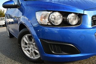 2016 Holden Barina TM MY16 CD Blue 5 Speed Manual Sedan.