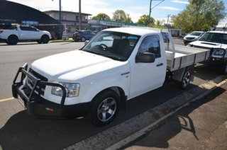 2007 Ford Ranger PJ 07 Upgrade XL (4x2) White 5 Speed Manual Cab Chassis
