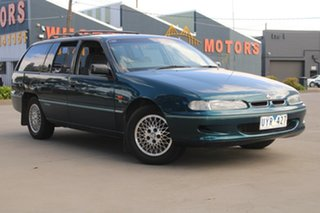 1996 Holden Commodore VSII Equipe Green 4 Speed Automatic Wagon.