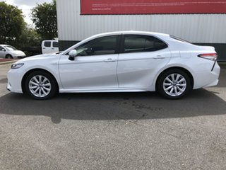 2018 Toyota Camry AXVH71R Ascent Sport Hybrid Frosted White Continuous Variable Sedan