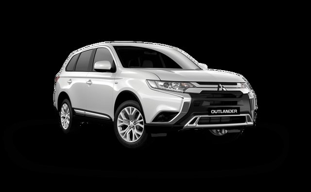 New Mitsubishi Outlander ZL MY21 ES AWD Hamilton, 2021 Mitsubishi Outlander ZL MY21 ES AWD White Solid 6 Speed Constant Variable Wagon