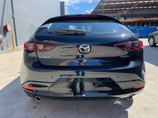 2021 Mazda 3 BP2HLA G25 SKYACTIV-Drive Astina Jet Black 6 Speed Sports Automatic Hatchback