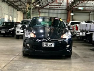 2010 Citroen DS3 DStyle Black 4 Speed Sports Automatic Hatchback.