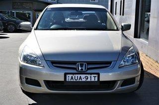 2005 Honda Accord 7th Gen VTi Gold 5 Speed Automatic Sedan.