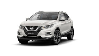 2021 Nissan Qashqai MY20 ST-L Ivory Pearl Automatic SUV.