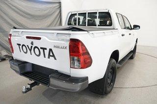 2019 Toyota Hilux GUN126R SR Double Cab White 6 Speed Sports Automatic Utility