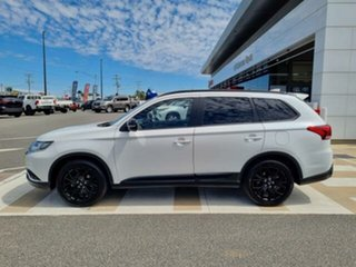 2019 Mitsubishi Outlander ZL MY20 Black Edition 7 Seat (2WD) White Continuous Variable Wagon
