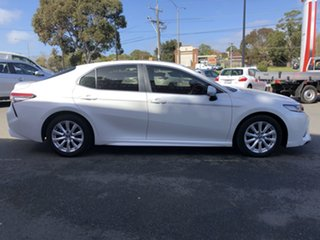 2019 Toyota Camry ASV70R Ascent Sport Frosted White 6 Speed Sports Automatic Sedan.