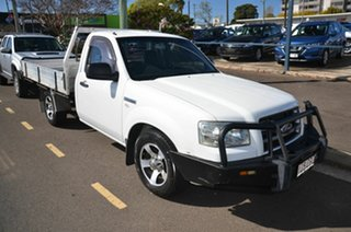 2007 Ford Ranger PJ 07 Upgrade XL (4x2) White 5 Speed Manual Cab Chassis.