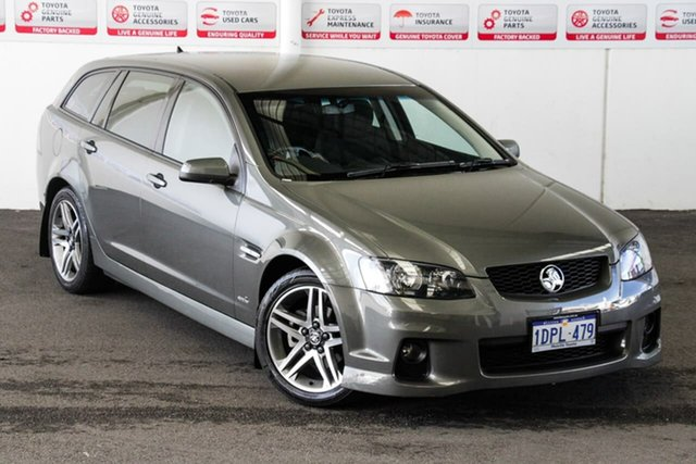Pre-Owned Holden Commodore VE II MY12 SV6 Rockingham, 2011 Holden Commodore VE II MY12 SV6 Grey 6 Speed Automatic Sportswagon