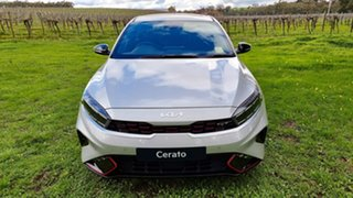 2021 Kia Cerato BD MY22 GT DCT Silky Silver 7 Speed Automatic Hatchback.