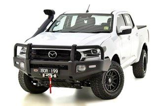 2021 Mazda BT-50 TFS40J XT White 6 Speed Manual Utility.