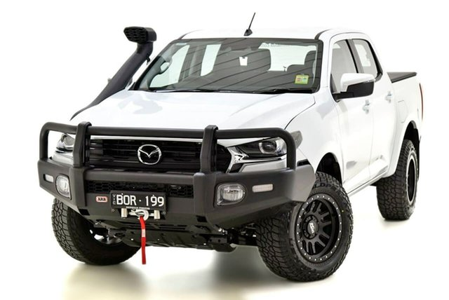 Demo Mazda BT-50 TFS40J XT Narre Warren, 2021 Mazda BT-50 TFS40J XT White 6 Speed Manual Utility