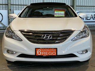 2010 Hyundai i45 YF MY11 Premium White 6 Speed Sports Automatic Sedan