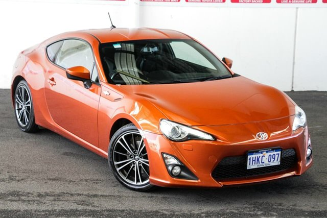 Pre-Owned Toyota 86 ZN6 GTS Myaree, 2013 Toyota 86 ZN6 GTS Orange 6 Speed Auto Sequential Coupe